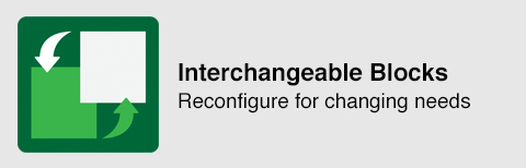 Interchangeable Blocks